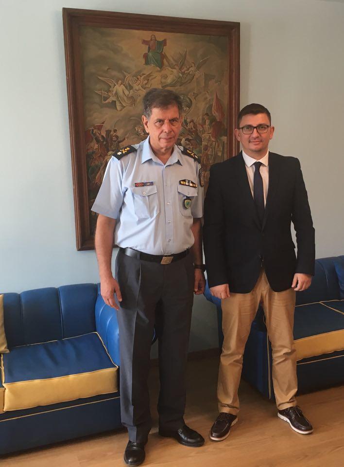 Συνάντηση Δημάρχου Ξηρομέρου, με τον Αστυνομικό Διευθυντή της Διεύθυνσης Αστυνομίας Αιτωλίας.