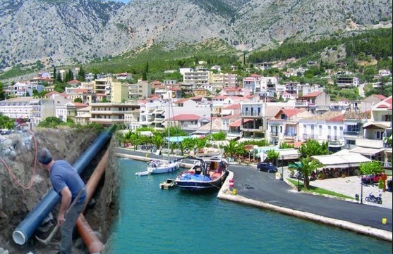 Διακήρυξη δημοπρασίας κομματιού 3,8 χιλιομέτρων, νέου εξωτερικού δικτύου ύδρευσης πόλης του Αστακού, προϋπολογισμού 1.500.000 €.
